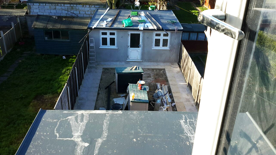 outhouse construction solution Wembley